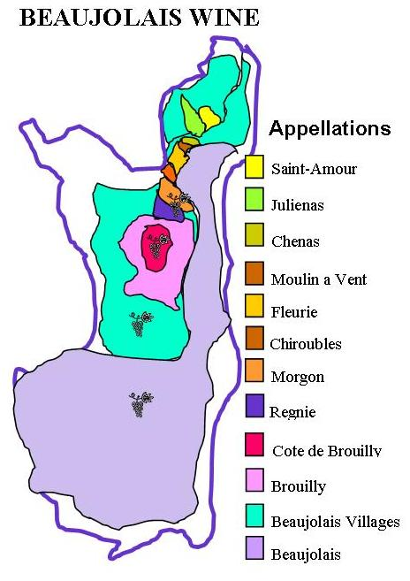 France Wine Tours Region Beaujolais